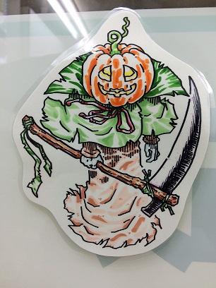 かぼちゃ仮面くん