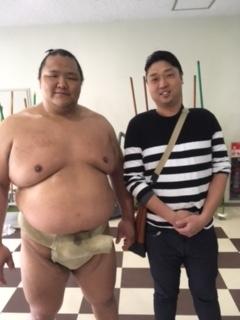 大相撲! 北勝富士関
